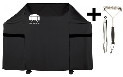 Cheapest Prices! Texas Grill Covers Premium Cover for Weber Genesis E-330 Gas Grills Including Brush...