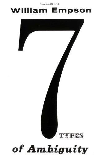 Seven Types of Ambiguity PDF