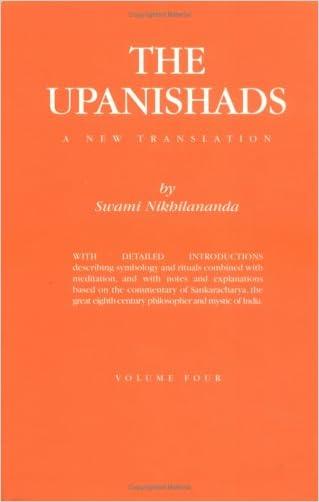 The Upanishads : Volume IV