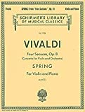 img - for Spring: Violin and Piano book / textbook / text book
