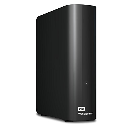 WD 4/6/8/10TB Elements 데스크탑 외장하드 Western Digital WD 10TB Elements Desktop Hard Drive - USB 3.0 - WDBWLG0100HBK-NESN