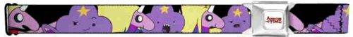 Adventure Time Seatbelt Belt - Lumpy Space Princes & Lady Rainicorn