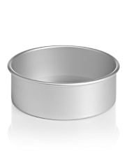 Satin Anodised Deep Cake Tin