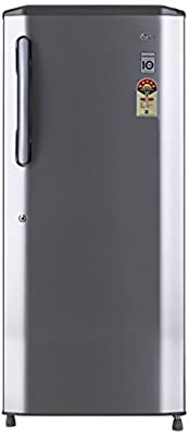 LG GL-B245BPZN Direct-cool Single-door Refrigerator (235 Ltrs, 5 Star Rating, Shiny Steel)