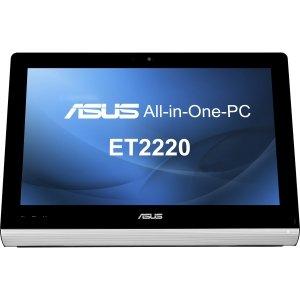 "ASUS - SYSTEMS Asus EeeTop ET2220IUTI-B019K All-in-One Computer - Intel Core i5 i5-3330 3 GHz - Desktop - Black<br>ET2220IUTI-B019K 23IN LED I5 8GB 1TB DVDRW W8<br>21.5"" Touchscreen Full HD Display - 8 GB RAM - 1 TB HDD - DVD-Writer - Intel HD 2500 Graphics - Wi-Fi - Webcam - Genuine Windows 8 - HDMI"