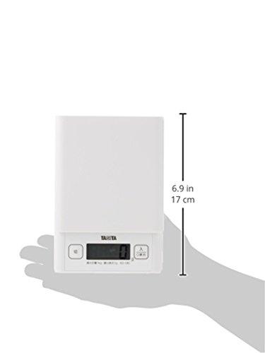 Cuisine num?rique Tanita 1kg ?chelle blanc KD-180-WH11 (japon importation)