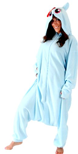 My Little Pony Rainbow Dash Hooded Kigurumi One Piece