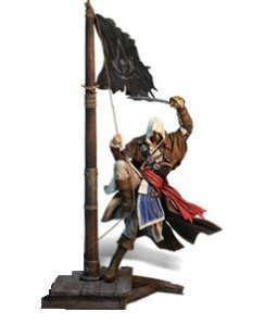 "Assassin's Creed IV Black Flag Captain Edward Kenway 18"" Figurine"