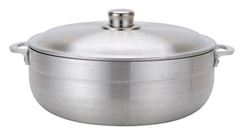 Aramco Alpine Gourmet Aluminum Caldero, 11 quart, Silver