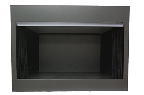 Sure Heat VFBC42B Surefire Vent-Free Firebox with Screen, 42