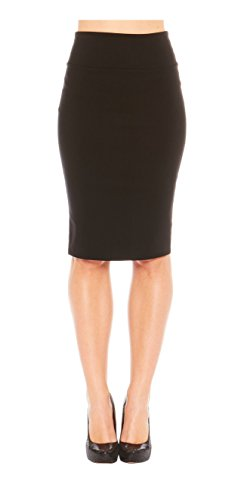 red-hanger-womens-fitted-bodycon-business-casual-pencil-skirt-made-in-usa-black-m