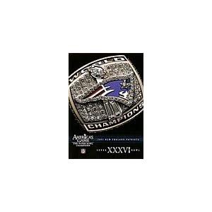 NFL Americas Game: New England Patriots Super Bowl XXXVIII movie