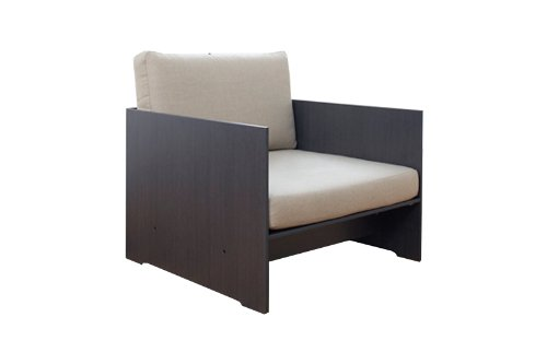 Conmoto – Polster Set für Sessel Riva Lounge – Auflage anthrazit – Design – Sessel – Sofa