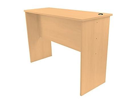 Ufficio Fitness altezza fissa Standing Desk, Light Oak, Light Oak 120x60