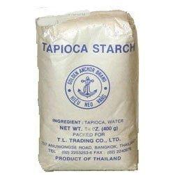 Amazon.com : Thai Tapioca Starch/Flour - 14 oz : Baking Thickeners