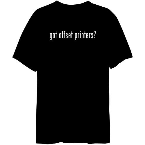 Got Offset Printers Occupations Mens T-Shirt (Black, Size Large)