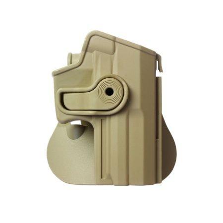 Hk Usp Full-Size Gun Holster Polymer 9Mm / .40 Desert Tan And A Genuine Igws'S Firing Range Earplugs Kit.