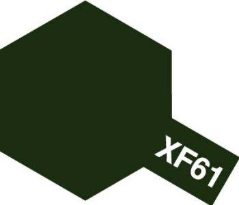アクリルミニ XF-61 ダークグリーン