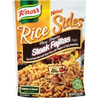 Knorr Rice Sides - Steak Fajitas - 5.6 oz