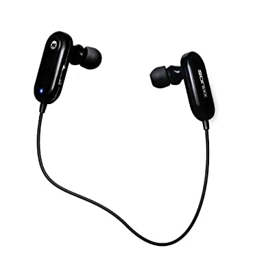 Sonixx X-Fit Wireless In Ear Bluetooth Headphones / Headset with Microphone and Remote Controls. Sports Earphones For iPhone, iPod touch, Samsung, HTC, Blackberry, Windows, Android, Galaxy and more - 3 Year Warranty