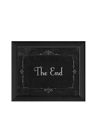 The Artwork Factory Silent Movie The End Print
