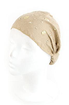 Trendy Fashion Skull Studded Head Wrap By Fashion Destination by Fashion Destination