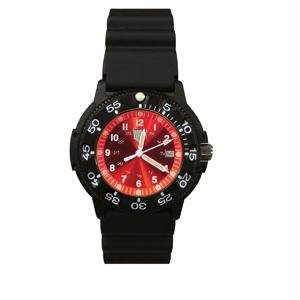 RAM Instrument Watch RAMW41100R Dive Watch, Red Face (41100 Series)