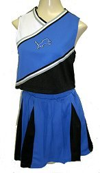 Detroit Lions Two Piece Youth Cheerleader Outfit - Buy Detroit Lions Two Piece Youth Cheerleader Outfit - Purchase Detroit Lions Two Piece Youth Cheerleader Outfit (Reebok, Reebok Dresses, Reebok Girls Dresses, Apparel, Departments, Kids & Baby, Girls, Dresses, Girls Dresses, Jumpers, Girls Jumpers, Jumper Dresses, Girls Jumper Dresses)