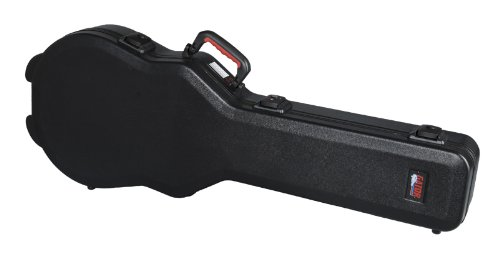 Gator Gpe-Lps Electric Guitar Case For Les Paul Style Guitars Recessed Twist Latch Hardware