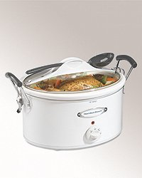 Hamilton Beach 33163 Stay Or Go 6 Quart Oval Slow Cooker from Hamilton Beach