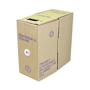 Ziotek 1000Ft. Cat6 Solid Core Bulk Cable Blue Zt1205385