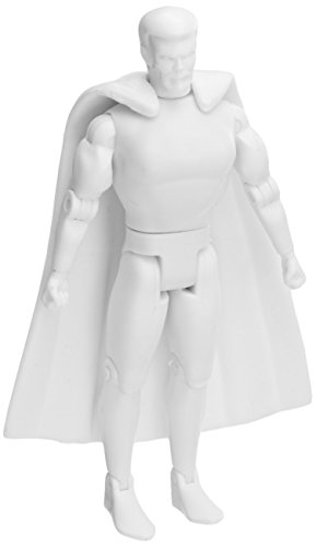 "Spherewerx Create Your Own Comic Book Hero Superhuman Male Customizing Blank 4"" Action Figure - 1"