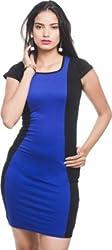 Addyvero Women's A-line Blue Dress