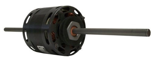 Fasco D336 4.4-Inch Fan Coil Air-Conditioning Motor, 1/10 Hp, 115 Volts, 1550 Rpm, 3 Speed, 3.5 Amps, Oao Enclosure, Double Shaft, Sleeve Bearing