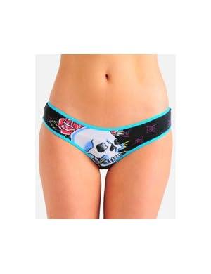 Ed Hardy Skull & Roses Bikini Underwear