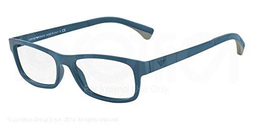 Eyeglasses Emporio Armani 3037 Blue, Grey Square