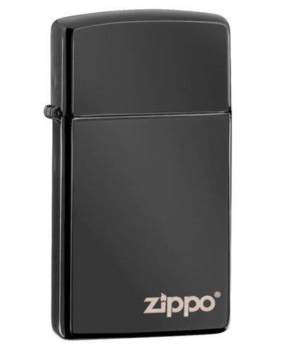 Zippo Ebony Logo Lighter (Set of 6)