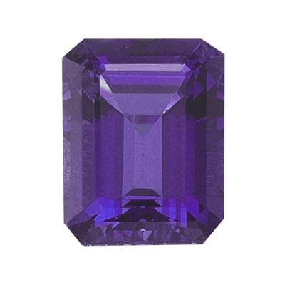 2.47 Cts of 10x8 mm Emerald Loose Amethyst (