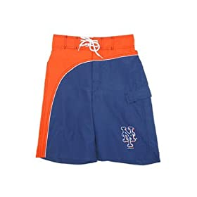 New York Mets MLB Boys Player Swim trunks