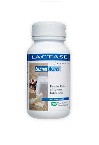 Nature s Way Lactase formula, Enzyme Active, 100 Capsules