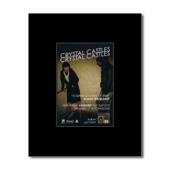 CRYSTAL CASTLES - Crystal Castles Matted Mini Poster - 13.5x10cm (Crystal Castles Poster compare prices)