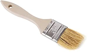 Roscan Wooden Handle Natural Bristle 1-1/2 Inch Pastry Brush