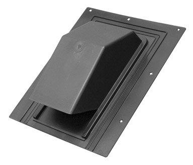 Cap Roof Plastic Blk 6