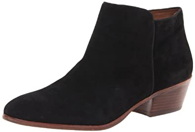 Sam Edelman Women's Petty Boot,Black Suede,4 M US