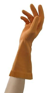 Mr. Clean 243036 Ultra Grip Latex Gloves With Grippers, Medium , 1 Pair