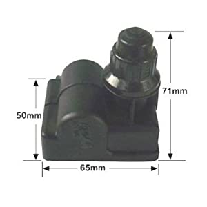 03340 Universal BBQ Gas Grill Replacement 4 Outlet Battery Push Button Ignitor for MCM, Amana, Uniflame, Surefire, Charmglow, Charbroil, Centro, Brinkmann, BBQ Pro, Bakers, Chefs, and Other Grills.