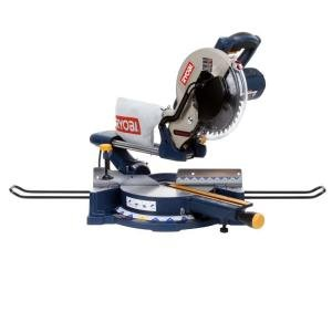 Ryobi 13 amp 10 in sliding compound miter saw with laser for 13 amp table saw