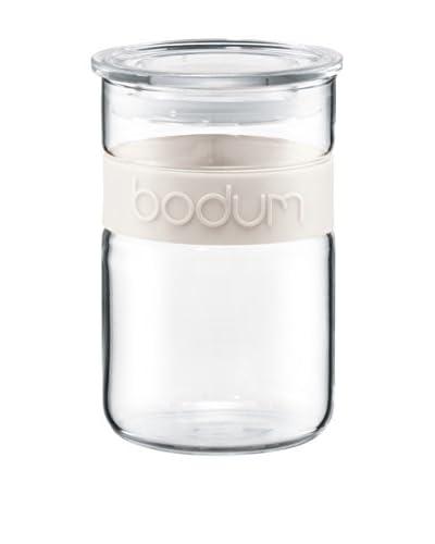 Bodum Presso Storage Jar, White, 20-Oz.