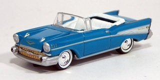 Johnny Lightning Buffy Vampire Slayer Xander's Blue Chevy Convertible
