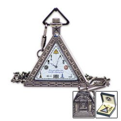 Triangular Masonic Pocket Watch